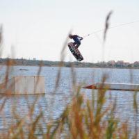 Téléski nautique wakeboard Barcarès 01