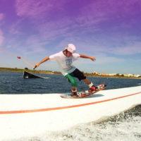 Téléski nautique wakeboard Barcarès 03
