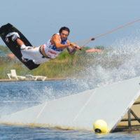 Téléski nautique wakeboard Barcarès 09