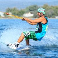 Téléski nautique wakeboard Barcarès 11