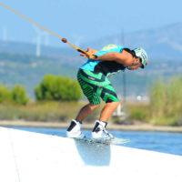 Téléski nautique wakeboard Barcarès 12