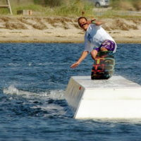 Téléski nautique wakeboard Barcarès 17