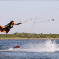 Téléski nautique wakeboard Barcarès 21
