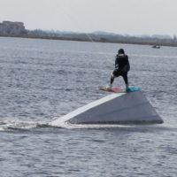 Téléski nautique wakeboard Barcarès 35