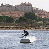 Téléski nautique wakeboard Barcarès 36