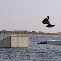 Téléski nautique wakeboard Barcarès 37