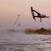 Téléski nautique wakeboard Barcarès 39